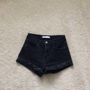 Like New Black Zara Shorts